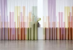 Love these skyline curtains by Cristian Zuzunaga