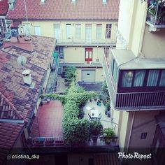 """#Torino raccontata dai cittadini per #inTO. Foto di cristina_ska """"I ballatoi di Torino"""""""