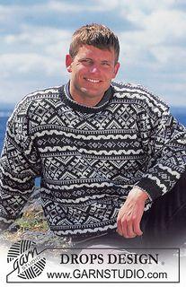 Men's blue icelandic sweater knitting pattern