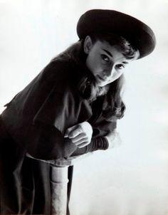 Gigi, 1951. Photo by Milton Greene.
