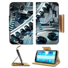 Graphic Design Silver Wheels Cogs Samsung Galaxy Mega 6.3 I9200 Flip Case Stand Magnetic Cover Open Ports Customized Made to Order Support Ready Premium Deluxe Pu Leather 7 1/16 Inch (171mm) X 3 15/16 Inch (95mm) X 9/16 Inch (14mm) MSD Mega cover Professional mega6.3 Cases Mega_6.3 Accessories Graphic Background Covers Designed Model Folio Sleeve HD Template Designed Wallpaper Photo Jacket Wifi Protector Cellphone Wireless Cell phone MSD Galaxy Mega ...