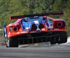 Ford GT #66 Le Mans GTE Pro Race Car.