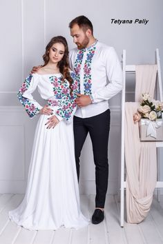 Mexican Fancy Dress, Traditional Mexican Dress, Mexican Outfit, Mexican Dresses, Traditional Wedding Dresses, Traditional Outfits, Embroidery Fashion, Embroidery Dress, Indian Designer Outfits