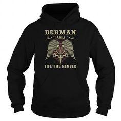 DERMAN Family Lifetime Member - Last Name, Surname TShirts