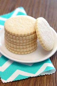 Sarah Bakes Gluten Free:  Sugar Cookie. Vegan. Gluten Free. Nut Free. Will use this recipe for cut out cookies.