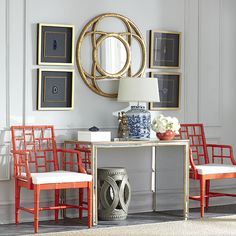 Wisteria - Furniture - Console Tables & Buffets -  Antiqued Art Deco Console Table - $749.00