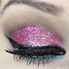 Maquiagem Rosa - Glitter 12 Rosa Dailus Color  - tudo make