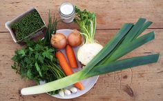 Gemüsebrühe selber machen: Zutaten