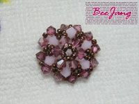 Bead Tutorial - [Tutorial] Flower Motif #1