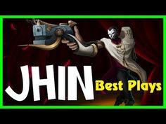 Jhin Montage 2016 - Best Jhin Plays Season 6 - Jhin ( DEADEYE ) Pentakil...