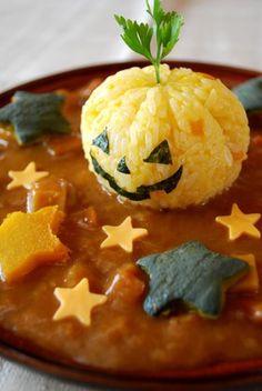ハロウィンカレー*Halloween curry