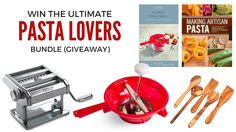 Win the Ultimate Pasta Lovers Bundle