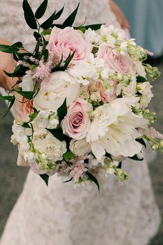 Astilbe Rose Bouquet Bride Bridal Flowers Pretty DIY Pink Village Hall Countryside Wedding http://www.jobradbury.co.uk/