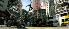 Optimus Prime and Grimlock. - Transformes Age of Extinction (2014)