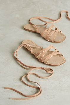 Splendid Taylor Sandals - anthropologie.com Definitely inspired by ballet shoes