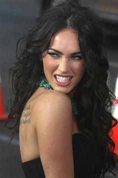 Megan Fox's sexy messy long wavy brunette hairstyle | SheKnows CelebSalon