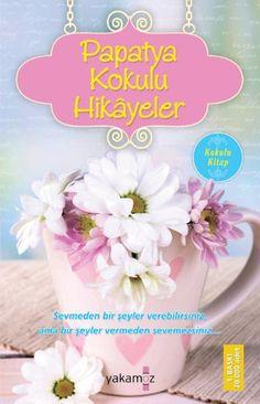 """""""Papatya Kokulu Kitap!"""" Hayata Bir Bardak Çay Molası Hiç kimsenin yanınızdan mutsuz ve kötü ayrılmasına izin vermeyin. Bulunduğunuz konumda mutlu olmaya bakın. Çiçek büyütün, kitap okuyun. Hayatı yarım bırakmayın!  Okurken içinizi huzurla dolduracak, yüreğinizi ısıtacak, iyilik, sevgi, dostluk ve mutluluğu dile getiren birbirinden güzel 53 adet hikâyeden derlenen bu kitapla hayata keyifli bir mola verip kargaşadan sıkıntılardan uzaklaşacaksınız. Good Books, My Books, Book Baskets, Film Music Books, Book Lists, Islam, Have Fun, Reading, Roman"""
