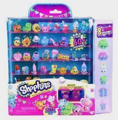 Shopkins Season 4 Glitter Collector Case with 8 Exclusive Shopkins http://amzn.to/29VqBY0