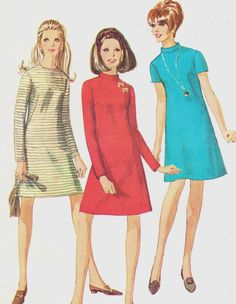 Vintage 1960s Simplicity Sewing Pattern 7195 Womens by CloesCloset, $11.00