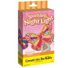 Make your own nightlight! Creativity for Kids Sparkling Night Light Kids Craft Sets, Crafts For Kids, Wall Fans, Elegant Wedding Cakes, Light Painting, Toy Boxes, Creative Kids, Night Light, Easy Crafts