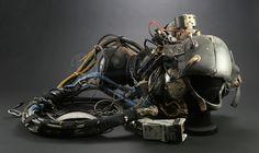 Johnny Mnemonic's (Keanu Reeves) VR Helmet Vr Helmet, Prop Store, Future Soldier, Movie Props, Movie Collection, Original Movie, Keanu Reeves, Cyberpunk, Sci Fi
