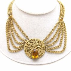 Festoon Necklace Victorian Revival Swag Antique Jewelry