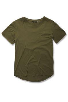 6610d40de40e9c Kids Scallop T-Shirt (Army Green) High Quality T Shirts