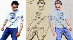 HOW TO CONVERT A PHOTO INTO A PENCIL SKETCH IN PHOTOSHOP URDU