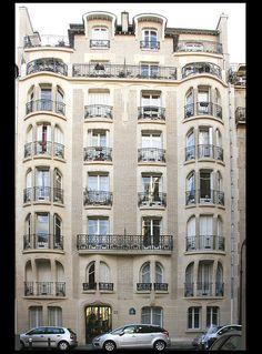 Immeuble de logements rue Agar [1911]- Paris XVIe - Guimard