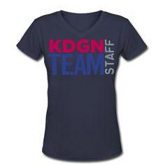 kdgn team staff (America) ~ cute with capri jeans!