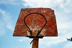love this hack job for a basketball hoop