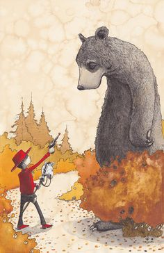 The Encounter - giclee print by grahamfranciose on Etsy -  http://www.etsy.com/shop/grahamfranciose?ref=ss_profile