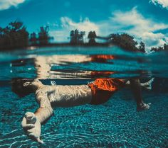 #Swimming works out all of the body's major muscles. What areas of your body do you want to improve?💙🏊🐋