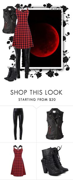 """Blood Moon"" by puggat ❤ liked on Polyvore featuring Helmut Lang, IRO, girlpower and powerlook"
