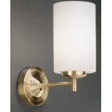 Franklite Decima Satin Brass Single Wall Light