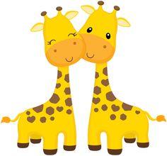 ●‿✿⁀giraffes‿✿⁀● g ꭵ ᖇ ᗩ ƒ ƒ ꮛ տ baby clip art, cute giraffe e baby animals. Clipart Baby, Cute Clipart, Jungle Theme Birthday, Safari Theme, Safari Party, Jungle Animals, Baby Animals, Cute Animals, Baby Clip Art