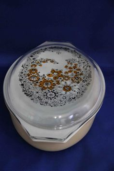 Vintage Pyrex Promotional UnNamed Floral Bubbles 2 by 2BarnPickers, $29.95