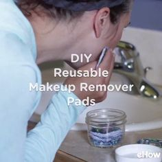 {DIY} Makeup Remover Wipes and Pouches - La Casa Cactus{DIY} Makeup Remover Wipes and Pouches - La Casa CactusHow to sew reusable makeup remover padsEven your skin care routine can join the zero waste movement Make Up Remover, Creation Couture, Sewing Hacks, Sewing Tutorials, Sewing Tips, Sewing Ideas, Zero Waste, Diy Beauty, Beauty Tips
