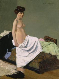 Felix Vallotton, Nu debout, 1904, The Detroit Institute of Arts