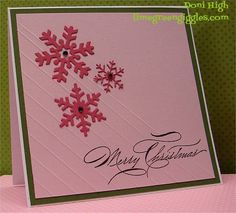 CC393 Merry Christmas by donidoodle - Cards and Paper Crafts at Splitcoaststampers