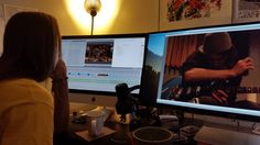Uh oh! Working on some new videos. ;)
