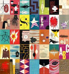 Alvin Lustig covers 40's - 50's