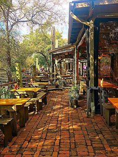 Walking into the Gristmill is like entering a beautiful Italian villa complete with cobblestone walkways and lush, towering trees. Texas Vacations, Texas Roadtrip, Texas Travel, Vacation Places, Travel Usa, Vacation Destinations, Family Vacations, Cruise Vacation, Disney Cruise