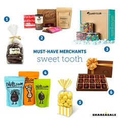Must-Have-Merchants: Sweet Tooth #candy #musthavemerchants #shareasale