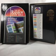 The Rainbow Study Bible King James Version : Illustrated Reference Edition