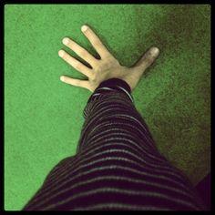 Hand on the floor - @adevodca- #webstagram