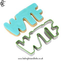 Cookie Cutter Set – Text Message | Baking Bits and Bobs | Baking ...