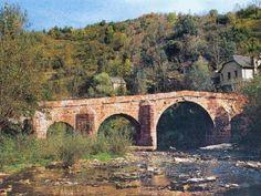Le vieux pont romain de Conques Le pont sur le Dourdou