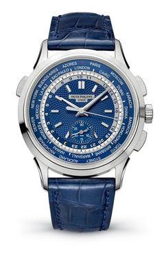 Patek Philippe Ref. 5390G World Time Chronograph                                                                                                                                                                                 Mais