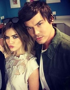 Lucy and Tyler Pll, Tyler Blackburn, Pretty Little Lairs, Face Claims, Best Shows Ever, Tv Shows, Lucy Hale, Hair, Beauty